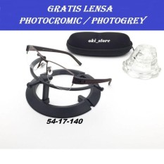 Oki_Store Frame Kacamata Pria Elegan PREMIUM New Normal / Baca / Plus / Minus / Cylinder