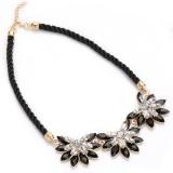 Spesifikasi Lama Klasik Berlian Imitasi Sunflower Alloy Rope Kalung Untuk Wanita Intl Not Specified
