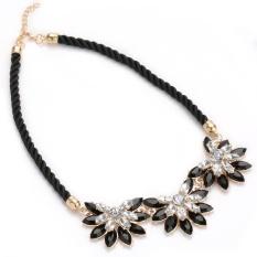 Beli Lama Klasik Berlian Imitasi Sunflower Alloy Rope Kalung Untuk Wanita Intl Di Indonesia