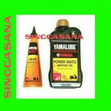 Ulasan Oli Mesin Motor Yamalube Power Matic 8L Oli Gear Yamalube 140 Ml