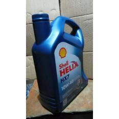 Oli Mesin Shell Z HX-7 SAE 10W-40 4X4l 1Galon 4-Liter.