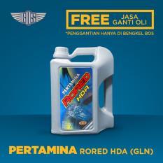 OLI PERTAMINA RORED HDA 90 GL-5 Oli Transmisi Gardan (4 Liter) - [ GRATIS JASA DAN CHECK-UP ]