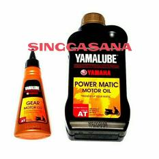 YAMALUBE POWER MATIC 10W40 AT  0.8L DAN YAMALBE GEAR 100 ML