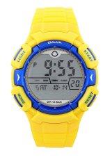 OMAX 00DP04M-E1 Jam Tangan Sport UNISEX- Kuning/Biru