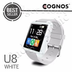 Onix Cognos U Watch U8 Smartwatch - TERMASUK KOTAK - Putih