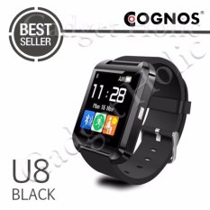 Onix Cognos U Watch U8 Smartwatch Original - TERMASUK BOX - Hitam