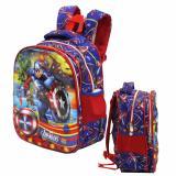 Spesifikasi Onlan Avengers Super Hero 6D Timbul Tas Anak Sekolah Ransel Tk Pg Import Biru Dan Harga