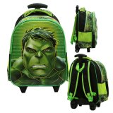 Cara Beli Onlan Avengers Hulk Mask Kepala 6D Timbul Lapis Anti Gores Tas Trolley Anak Tk Import Green