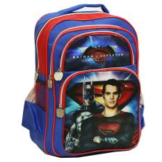 Jual Onlan Batman V Superman Tas Ransel Anak Sekolah Ukuran Sd Ada 4 Kantung Besar Biru Onlan Asli