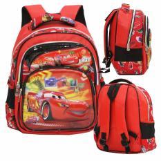 Beli Onlan Cars Mcqueen 5D Timbul Anti Gores Tas Ransel Tk New Model Red Black Online