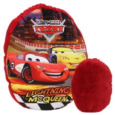 Spesifikasi Onlan Cars Mcqueen Bantal Sandaran Anak Model Cermin Isi Dacron Merah Lengkap