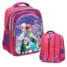 Spesifikasi Onlan Disney Frozen 5D Flower Timbul Ransel Sekolah Ukuran Besar Import Pink Murah