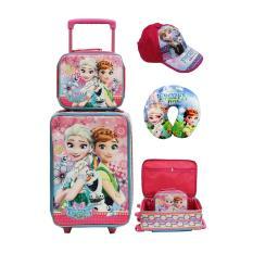 Onlan Set Koper Lunch Bag Anak Dan Topi Cantik New Arrival Pink Onlan Diskon 40