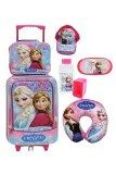 Jual Onlan Disney Frozen Set Koper New Ariival Lunch Bag Anak Pink Biru
