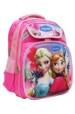 Spesifikasi Onlan Disney Frozen Tas Ransel 3D Timbul Unik Ukuran Besar Sd Pink Terbaik