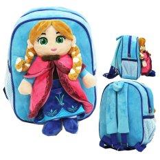 Toko Onlan Disney Frozen Tas Ransel Boneka Anak Ukuran Play Group Bahan Yelvo Lembut Dan Halus Biru Dekat Sini