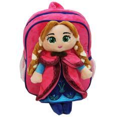 Beli Onlan Tas Ransel Boneka Anak Ukuran Play Group Bahan Yelvo Lembut Dan Halus Pink Yang Bagus