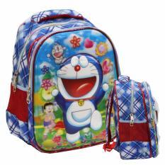 Spesifikasi Onlan Doraemon 5D Timbul Hologram Tas Ransel Tk Ada 2 Kantung Import Biru Terbaru