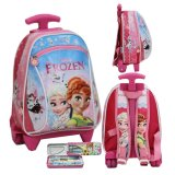 Spek Onlan Tas Trolley Anak Sekolah Play Group Bahan Kain Sponge Tahan Air Dan Kotak Pensil Pink Onlan