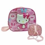 Toko Onlan Hello Kitty 3In1 Lampu Music 5D Timbul Hologram Tas Selempang Bahu Tempat Bekal Import Pink Di Dki Jakarta