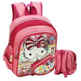 Jual Onlan Hello Kitty Tas Ransel Anak Pg Tk Bahan Saten Kantung Depan Unik Pink Onlan Original