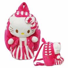 Onlan Tas Ransel Boneka Anak Perempuan Cantik Ukuran Paut - Pink