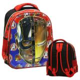 Harga Onlan Marvel Avengers Civil War Super Hero 6D Timbul Kantung Depan Unik Tas Ransel Ukuran Tk Import Merah Baru Murah