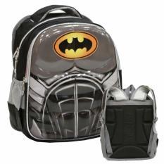 Onlan Tas Ransel Anak Sekolah TK Import - Batman 6D Timbul Dua Kantung