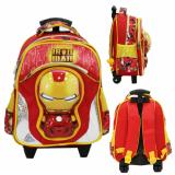 Diskon Onlan Marvel Iron Man Mask Kepala 6D Timbul Anti Gores Tas Trolley Anak Tk Import Red Black Onlan Indonesia