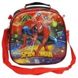 Jual Onlan Marvel Spiderman 5D Timbul Hologram Lunch Bag 3 In1 Tas Bahu Selempang Ransel Red Dki Jakarta