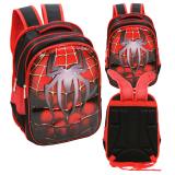 Jual Onlan Marvel Spiderman 6D Timbul Ransel Anak Sekolah Sd Import Merah Antik