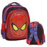 Jual Onlan Marvel Spiderman 6D Timbul Unik Tahan Gores Tas Ransel Ukuran Sd Import Biru Branded