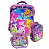Top 10 Onlan My Little Pony 5D Hologram Tas Ransel Sd Import Dan Lunch Bag 5D Timbul Online