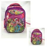 Harga Onlan My Little Pony 5D Timbul Hologram Tas Ransel Anak Sekolah Tk Ada 3 Kantung Import Purple Yg Bagus