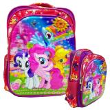 Model Onlan My Little Pony 5D Timbul Hologram Tas Ransel Sd Import Terbaru