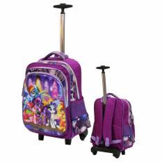Toko Onlan My Little Pony 5D Timbul Tas Trolley Sd Gagang Samurai Stainless Import Purple Terlengkap Dki Jakarta