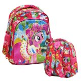 Beli Onlan My Little Pony 6D Timbul Lapis Anti Gores Tas Ransel Play Group Import Pink Online Terpercaya