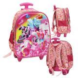 Beli Onlan My Little Pony Cantik 5D Timbul Hologram Tas Trolley Anak Sekolah Tk Pink Murah Di Indonesia