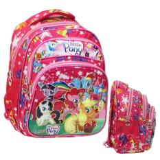 Review Onlan My Little Pony Cantik 6D Timbul Tas Ransel Tk Pg Import Pink Indonesia