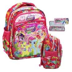 Toko Onlan My Little Pony Lis Emas 6D Timbul Tas Ransel Anak Sekolah Play Group Import Dan Kotak Pensil Pink Terdekat