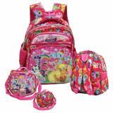 Promo Toko Onlan My Little Pony Lis Emas 6D Timbul Tas Ransel Anak Sekolah Tk Play Group Import Dan Tempat Bekal Pink