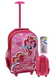 Toko Onlan My Little Pony Pinky Pie Trolley Anak Sekolah Sd Ukuran Besar Soft Timbul New Model Dan Kotal Pensil Set Alat Tulis Pink Online Indonesia