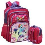 Beli Onlan My Little Pony Tas Ransel Anak Sekolah Ukuran Sd Ada 4 Kantung Besar Pink Fanta Terbaru