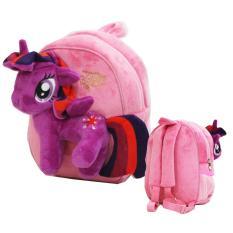 Toko Onlan My Little Pony Tas Ransel Boneka Anak Ukuran Tk Atau Play Group Bahan Yelvo Lembut Dan Halus Lengkap