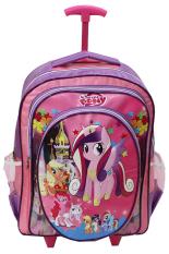 Toko Onlan My Little Pony Tas Trolley Anak Sekolah Sd Ukuran Besar Soft Timbul New Model Ungu Pink Onlan Online