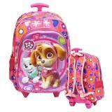 Dimana Beli Onlan Paw Patrol 5D Timbul Tas Trolley Anak Sekolah Sd Ukuran Sedang Ada 2 Kantung Import Pink Onlan
