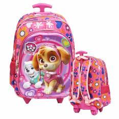 Beli Onlan Paw Patrol 5D Timbul Tas Trolley Anak Sekolah Sd Ukuran Sedang Ada 2 Kantung Import Pink Onlan Dengan Harga Terjangkau