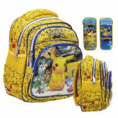 Harga Onlan Pokemon Go 6D Timbul Tas Ransel Tk Pg Dan Kotak Pensil Timbul Yellow Yang Murah Dan Bagus