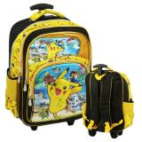 Onlan Pokemon Go 6D Timbul Tas Trolley Anak Sd Import Yellow Promo Beli 1 Gratis 1