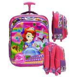Jual Onlan Sofia The First 5D Timbul Hologram Tas Trolley Anak Sekolah Sd Purple Antik